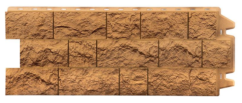 Фасадная панель Дёке терракотовый