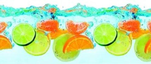Фартук для кухни Фрукты на воде