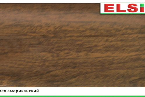 Плинтус пластиковый Орех американский 2,5м