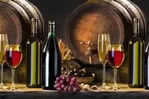 Кухонный фартук Вино