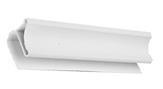 Плинтус потолочный пластиковый 3 м.