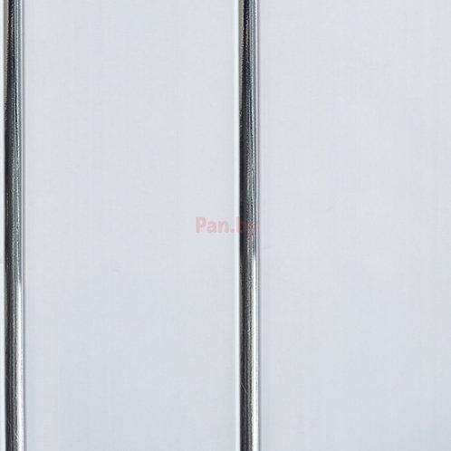 Панель ПВХ 2-х секц. Серебро 3,0м*0,20м