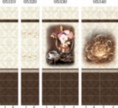Панель с фризом шоколад