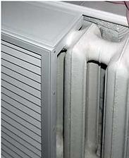 Пластиковые экраны для радиаторов отопления