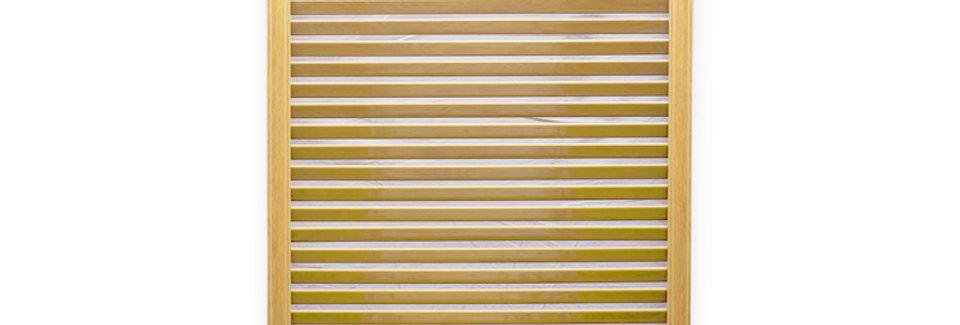 Решетка радиаторная 600*600 Сосна