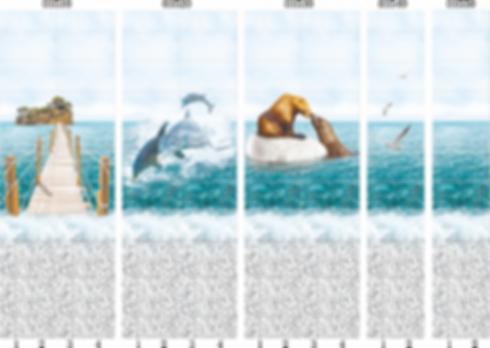 Панели пластиковые море
