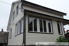 Сайдинг виниловый Блок-Хаус Сливки