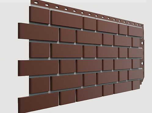 Фасадная панель  Коричневый