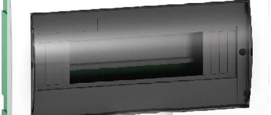 Бокс ЩРН-П-12 модулей встраиваемый с прозрачной дверцей IP40 63A 1ряд Schneider