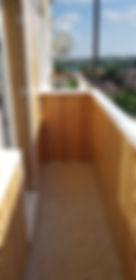 Панель ПВХ для балкона Бамбук