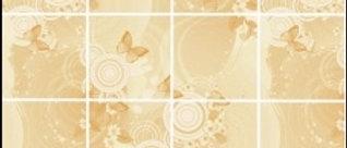 Панель листовая ХДФ Фантазия Имбирь 2800*1035*3