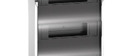 Бокс ЩРН-П-36 модулей навесной с прозрачной дверцей IP40 63A 3ряда Schneider
