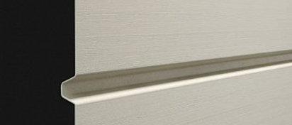 Сайдинг профилированный брус D6S Сливки