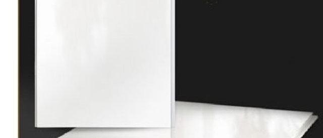 Панель пластиковая белый глянец