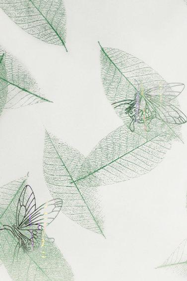 Панель пвх голография Бабочки зеленые