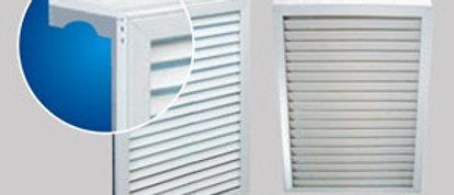 Экран 3-х секционный для радиатора отопления