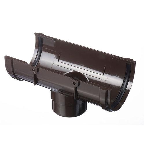 Воронка к водостоку  DOCK Standart Шоколад