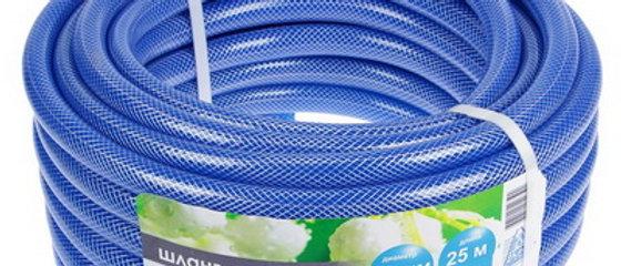 "Шланг 3/4"" ПВХ Гидро армированный прозрачный синий 25м."