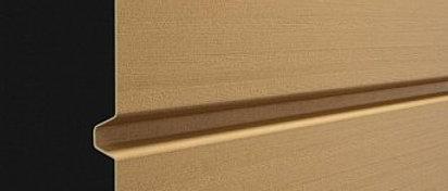 Сайдинг профилированный брус D6S Карамель
