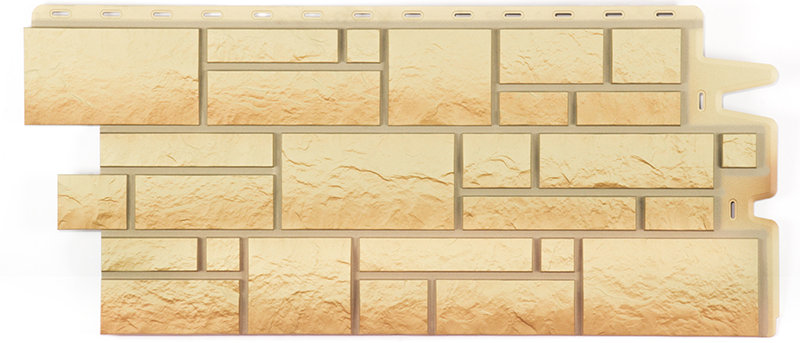 Фасадные панели BURG Песчаный