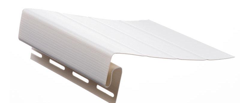 J-фаска к сайдингу Docke 3,0 м Белая