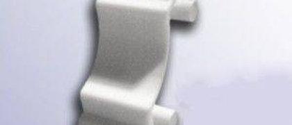 Соединительный  элемент к плинтусу потолочному