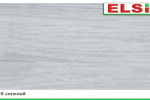 Плинтус пластиковый Дуб снежный 2,5м