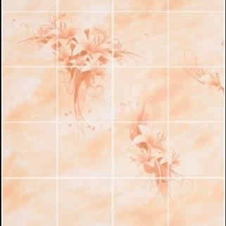 Панель листовая ХДФ Букет цветов Орхидея 2800*1035*3