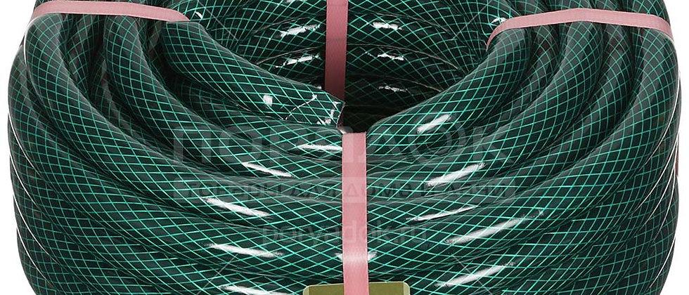 """Шланг 3/4"""" ПВХ Гидро армированный черно-зеленый ВОЕННЫЙ 20м."""