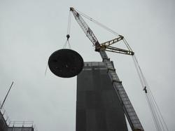 構造物の吊り出し