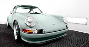 QUINTESSENZA IS A CLASSIC 911 EV WITH 400 KM OF RANGE