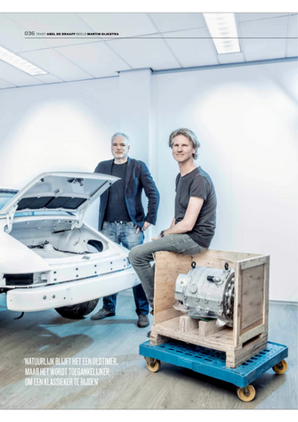Stroomopwaarts. Voitures extravert maakt klassieke Porsches elektrisch.