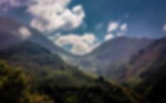 mountain pass Andes mountains