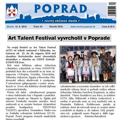 ART TALENT FESTIVAL (ATF18)