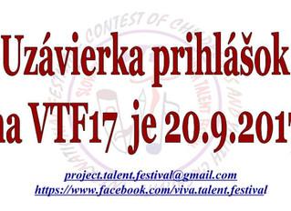 Záujemci  Viva Talent Festival
