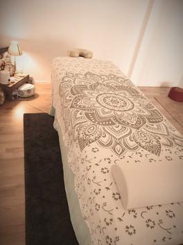 Massage- und Entspannungsliege