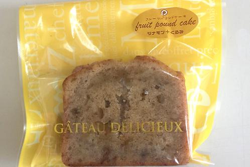 フルーツパウンドケーキ(シナモン+くるみ)
