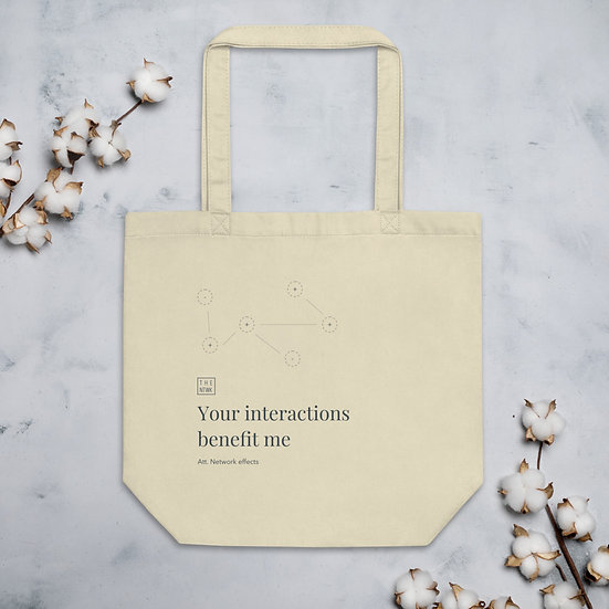 NFX White Bag