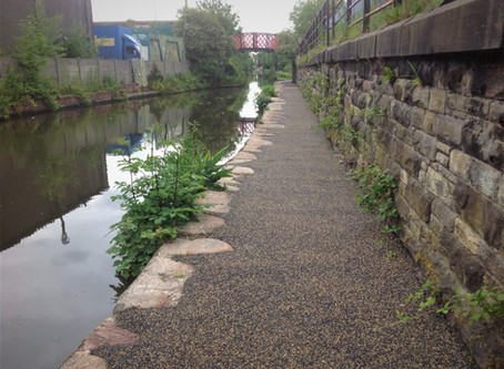Ashton Canal towpath