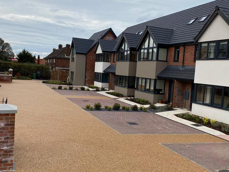 Norfolk Homes complete Snaefell Park with Flexistone