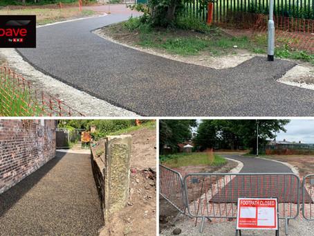 KBI Continues to make progress on Swinton Greenway