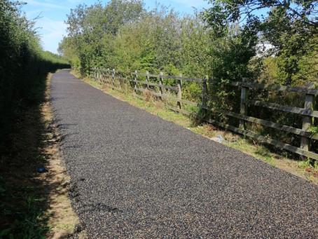 HS2 bridleway installation for Morgan Sindall