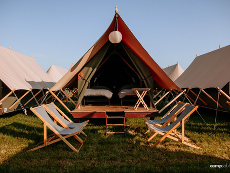 Uniek overnachten op Glamp Outdoor Camp Veluwe