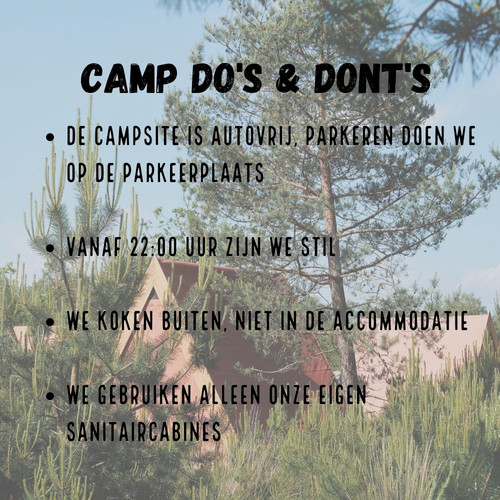 Camp Do's & Dont's