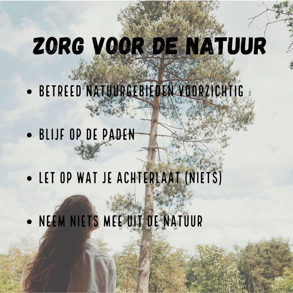Zorg voor de natuur