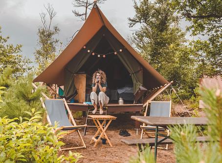 Vervelen is onmogelijk bij Glamp Outdoor Camp