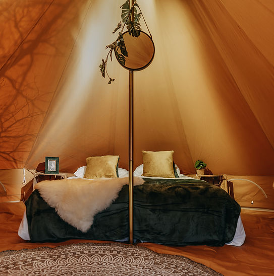 Bell Deluxe Glamping Glamp Outdoor Camp.