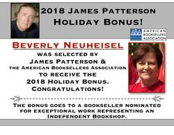 James Patterson Award