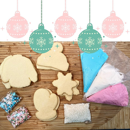 Warm and Cozy Cookie Decorating Kit
