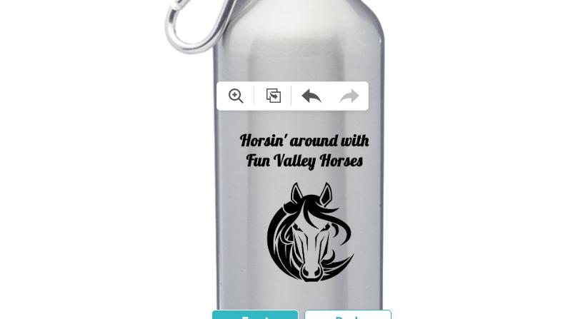 Aluminum 24oz. Water bottle